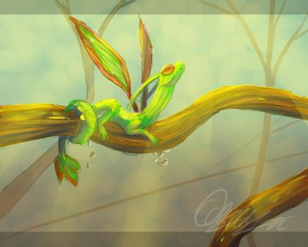 Flygon by Quelux