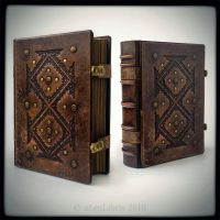 8 x 10.5 leather journal... by alexlibris999