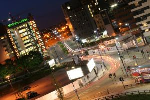 Birmingham At Night by ShaunJoyce