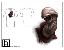 alien chestbursters tshirt by lucirgo