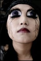 scary gothic anime eyes by mizZ-AT