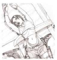 Death of Lara... by too thin a margin by Deresoluted