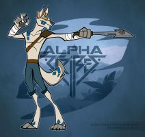 CO: Alpha ZTribes - Jet the wolf I by TheTundraGhost
