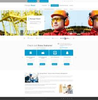 Building Management Web Design by vasiligfx