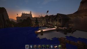 Minecraft - Medieval Town - Dock by Homunculus84