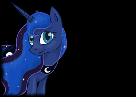 Luna, I LOVE YOU *Cough*. by Alouncara
