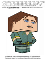 Cubeecraft - Prince Barin by CyberDrone