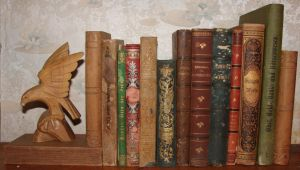 Old Books Stock by silber-stock
