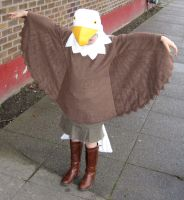 Eagle Costume for my friend's daughter by RhinestoneRagdoll