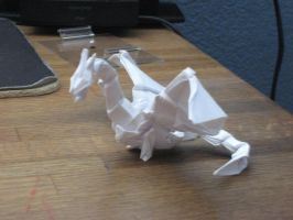 Origami Dragon by derikvyreflame