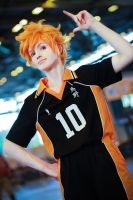 Haikyuu!! Hinata Shouyou by general-kuroru