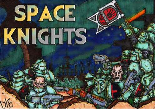 Space Knights - Kickstarter by Bergiloh