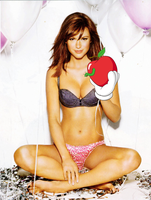 Danneel Harris X Kaws Apple by luismi24