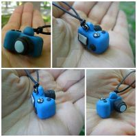 Polymer Clay Camera by bayatfilm
