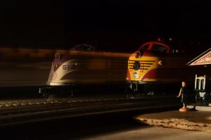 Night Departure by CSX5344