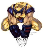 Wolverine Collab with x_Sagi_x by CreatureSink
