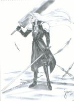Sephiroth - FF7 by touga