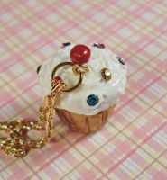 Royal Cupcake Necklace by FatallyFeminine