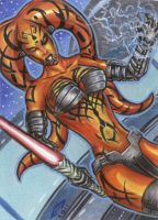 DARTH TALON SKETCH CARD 2 by AHochrein2010
