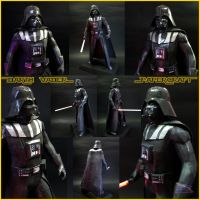Darth Vader Papercraft by BRSpidey