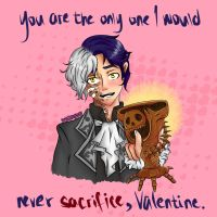 Magusar - Valentine's Day Card by IzzyPeasy