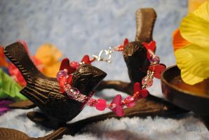 Love Birds by StarbitJewels