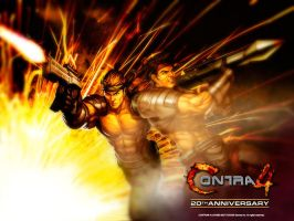 Contra 4 by PrinceofDestruction
