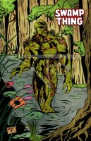 221 Swamp Thing by bielero