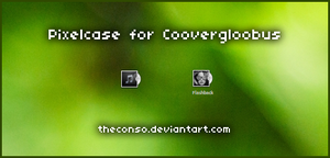 Pixel case for covergloobus by Theconso