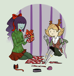 Last minute wrapping by Ask-Poison-Princess