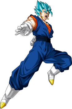 Vegetto Super Saiyan Blue by Frost-Z