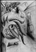 Abstract drawing by codymcgrath