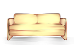 Blank Meme: Couch by Haxelo