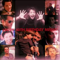 Happy Birthday Misha! :D by holster262