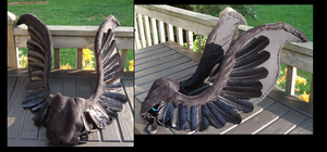 NMM Cosplay Wings WIP by Drachefrau