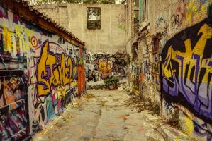 Greece - Athen - Anafiotika Quarter- Graffitis by GiardQatar