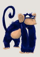 Monkey by K-litos
