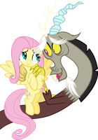 Aww c'mon, Fluttershy, it can't hurt THAT bad by Erccre147
