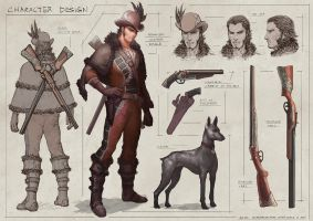 Spanish hunter by Elle-Shengxuan-Shi