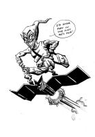 Spider-man rogues gallery - The Green Goblin by nonamefox