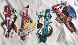Pop Badges Round 5 by FablePaint