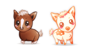 Cuteness Overload by feverpaint