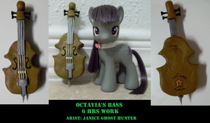Customized Octavia's Bass by janiceghosthunter