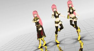 [MMD] Nakao_Luka_Pack_DL by YangYang0104