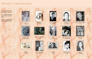 Submissions for July, 31th by PortraitPencilArt