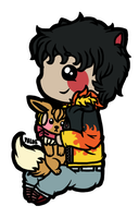 Sticky Chibi || danny being cute by Yalue