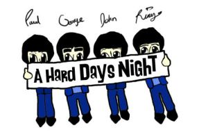 A Hard Days Night by merthurandbeatles