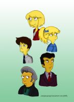 Simpsons: Fanfic Characters by LSimpsonJazzgirl