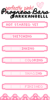 Free: Perfectly Pink Progress Bar Pack by DarkkAngelll