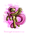 Weeping fluttershy by GreekStyle